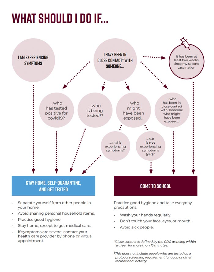 Covid Decision Chart
